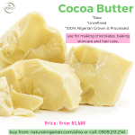 Naturally Nigerian Cocoa butter