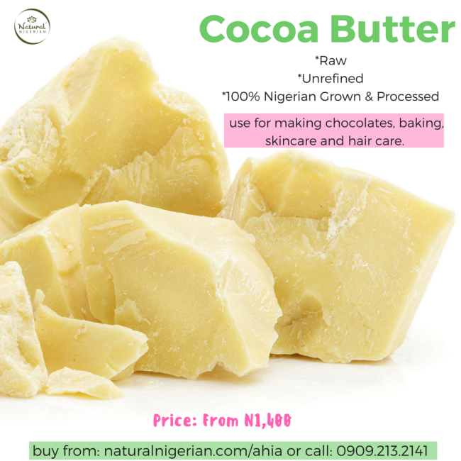 Buy Cocoa Butter Sell Nigerian
