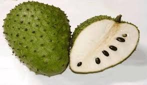 how to cut a soursop fruit
