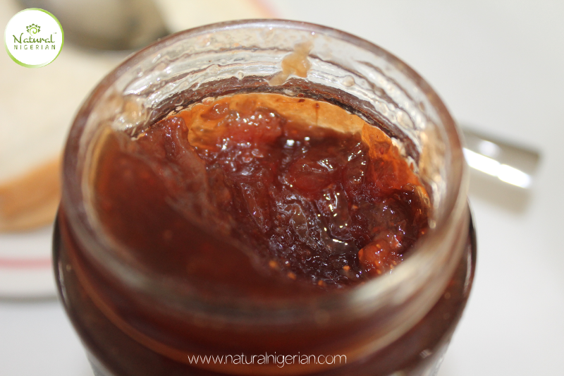 Natural Nigerian Peanut Butter and Jelly Nigeria Jelly close up