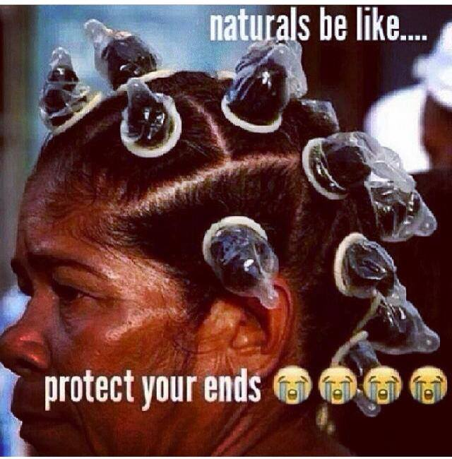 Naturals protect your ends
