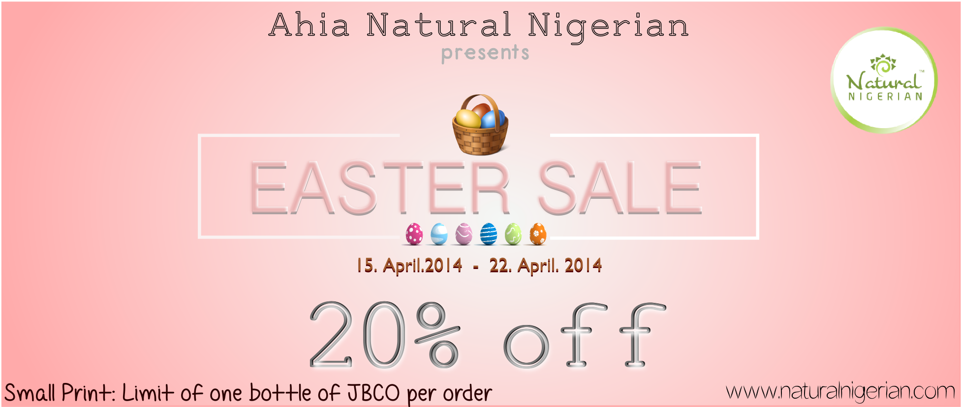 Natural Nigerian Easter Sales Nigeria Lagos