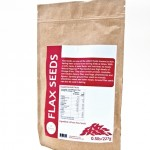 Flax Seeds label