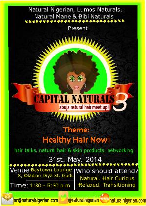 Capital Naturals three Abuja Hair Meet Up green-yellow 2