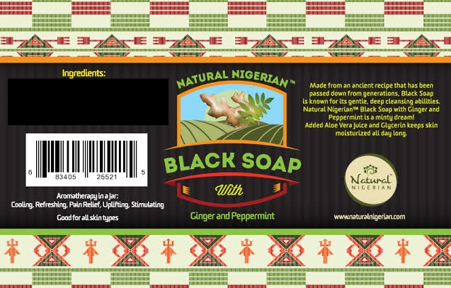 Natural Nigerian Ginger and Peppermint