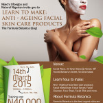 Learn to make your own cosmetics in Nigeria