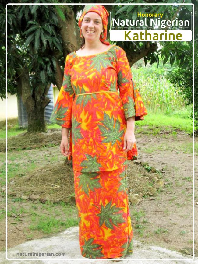 Katharine Natural Nigerian