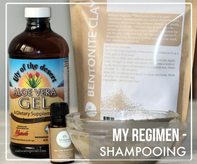 My Regimen - Shampooing