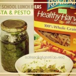Healthy School Lunch – Pasta & Pesto