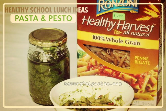 Healthy School Lunch Pesto Pasta Nigeria
