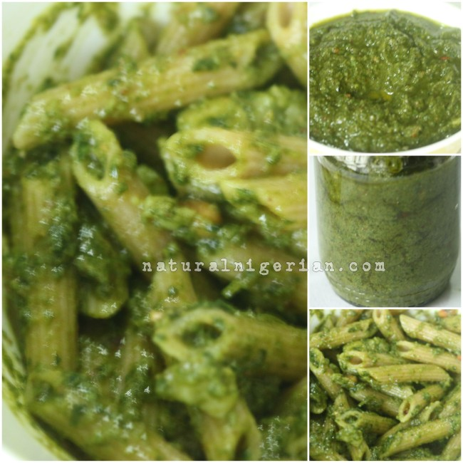 Healthy Lunch idea - Pesto