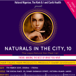 Naturals In The City 10 (NITC10) – Flyer