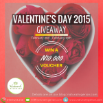 Valentine's Day 2015 Giveaway – Closed