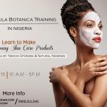 Formula Botanica Nigerian Skincare class FAQ