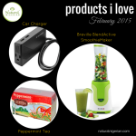 Products I love – February 2015