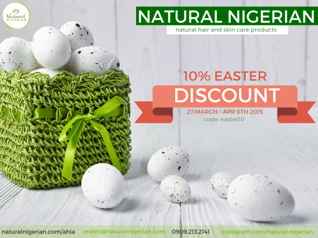 Natural Nigerian Easter Sales