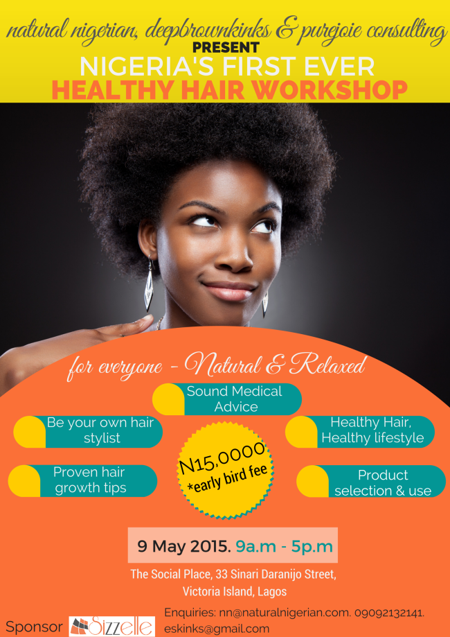 Healthy Hair Workshop Nigeria