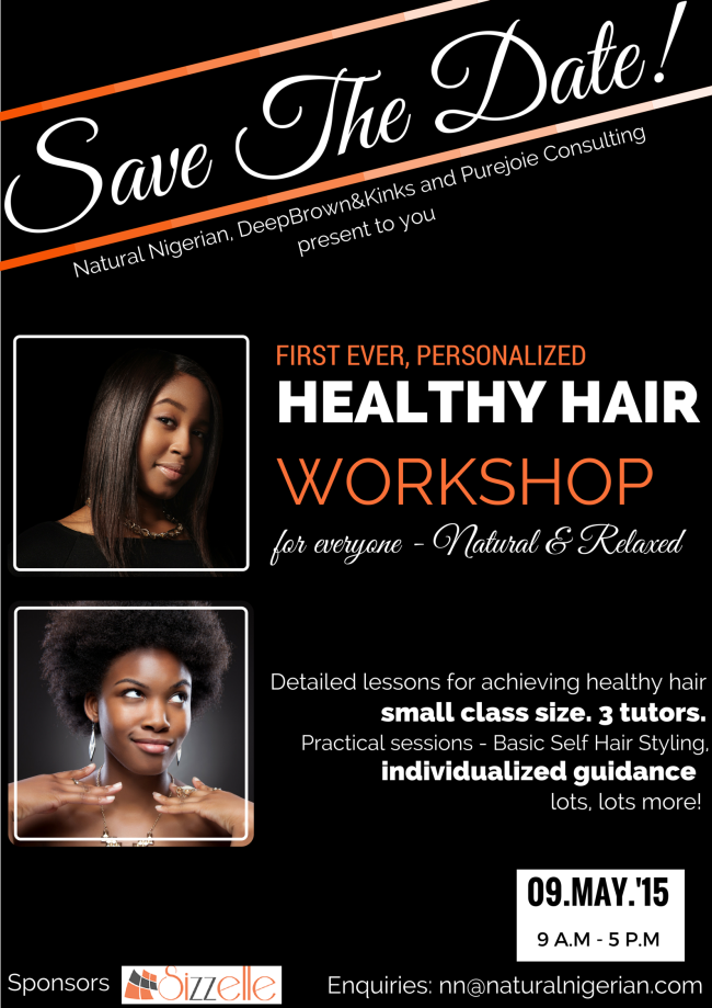 Healthy Hair Workshop Nigeria Natural