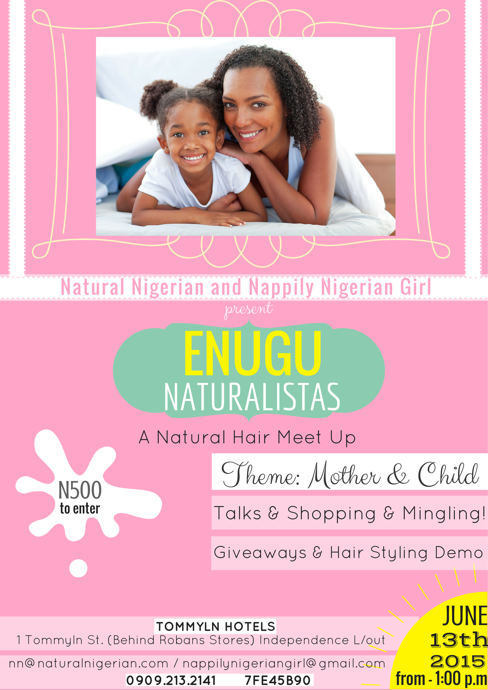 Natural Hair Meet Up Enugu  Nigeria