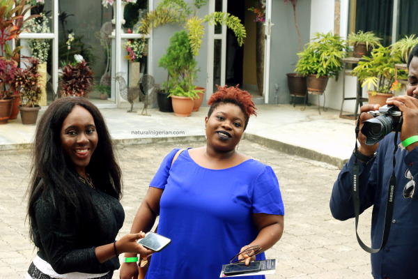 Natural Nigerian Hair Meet Up Lagos NITC12 Berry Cakes Dakara
