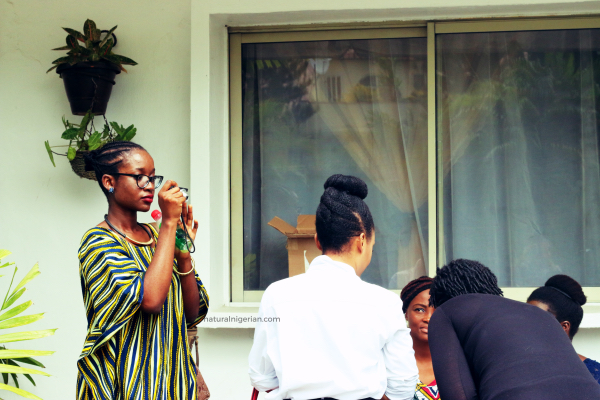 Natural Nigerian Hair Meet Up Kink and I NITC12 Lagos