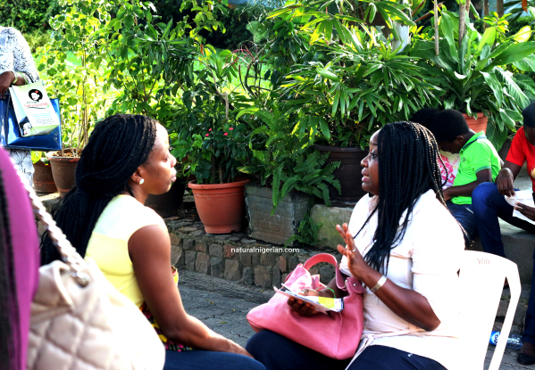 Natural Nigerian NITC12 Lagos Hair Meet Up Adura O