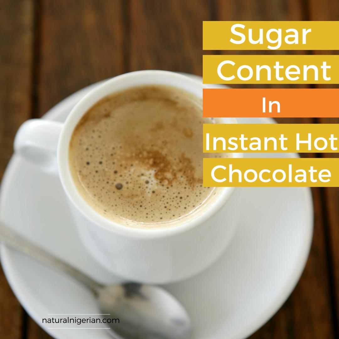 Sugar Content Milo Bournvita