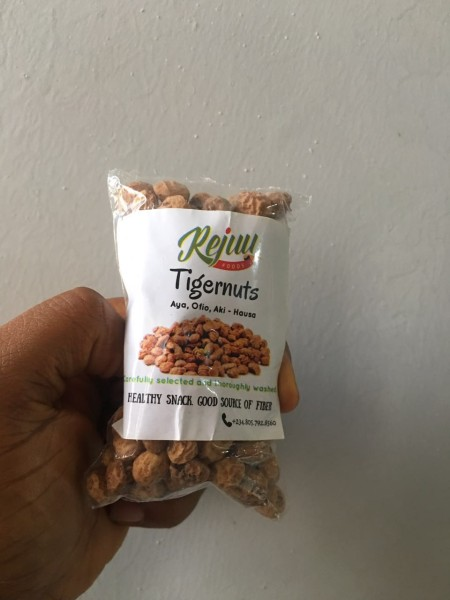 Tiger nuts tigernut healthy nigerian snack natural