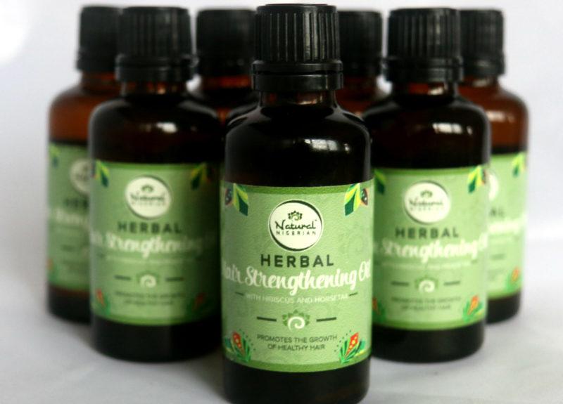 Natural Nigerian Herbal Hair Strengthening Oil
