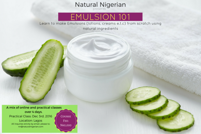 learn-to-make-emulsions-from-scratch- nigeria- lotion- cream