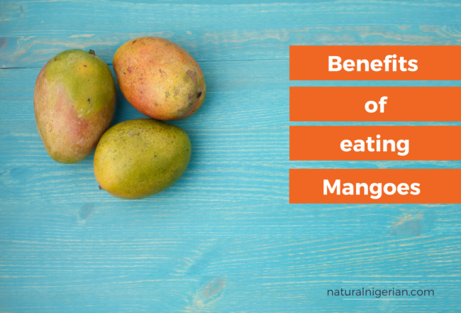 Mango eating benefit