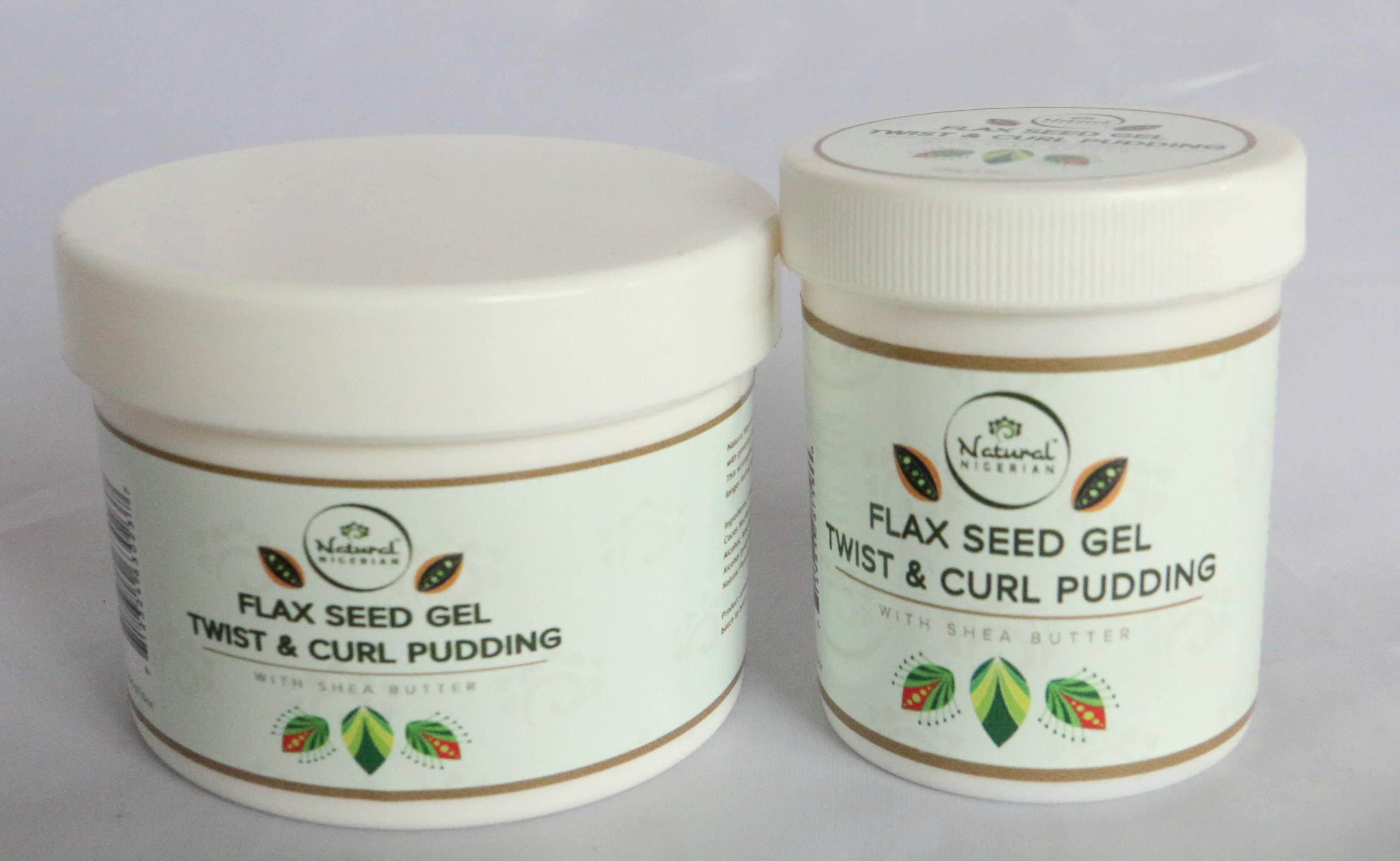 Natural Nigerian Flax Seed Gel Twist Amp Curl Pudding