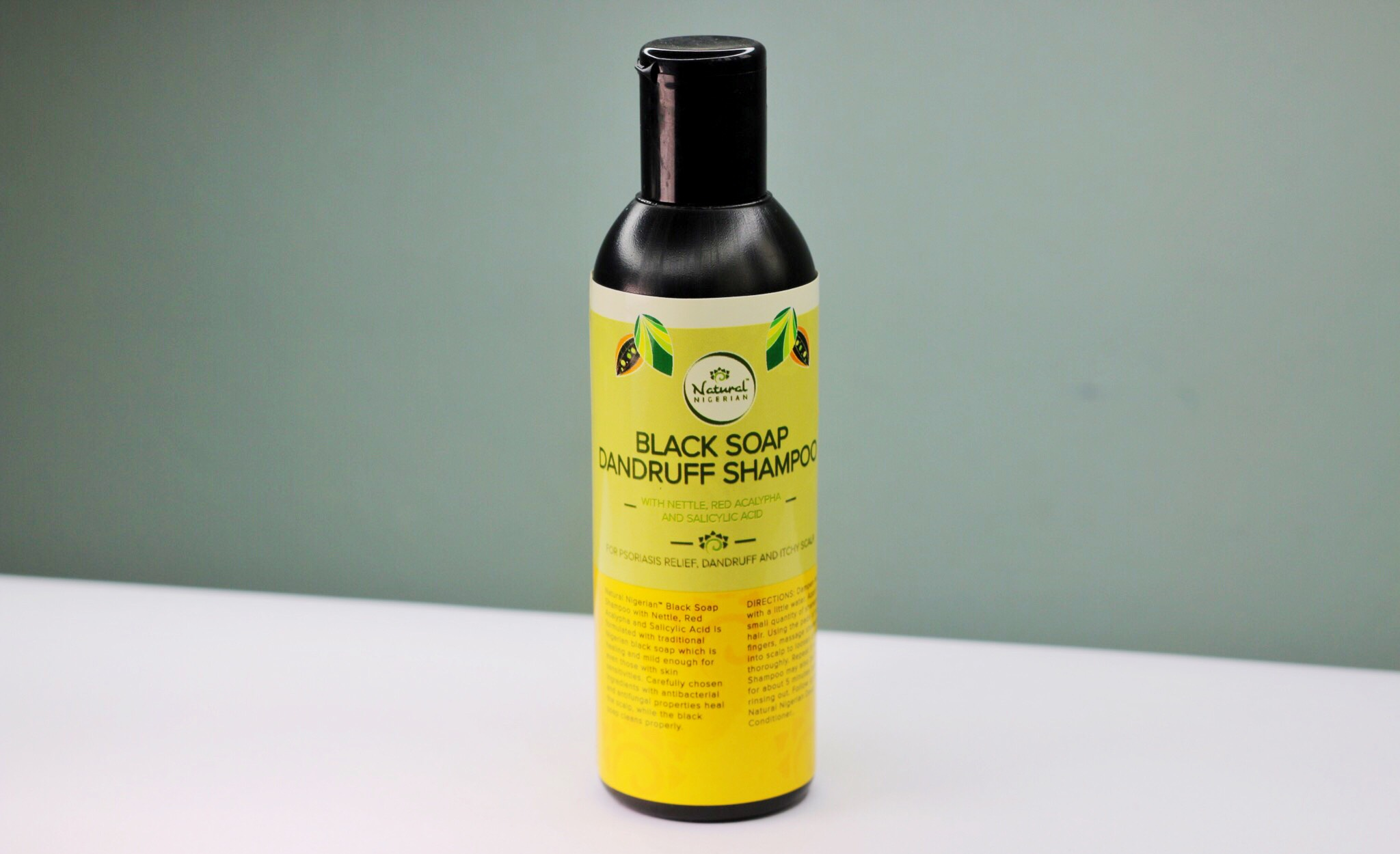 Black Soap Dandruff Shampoo