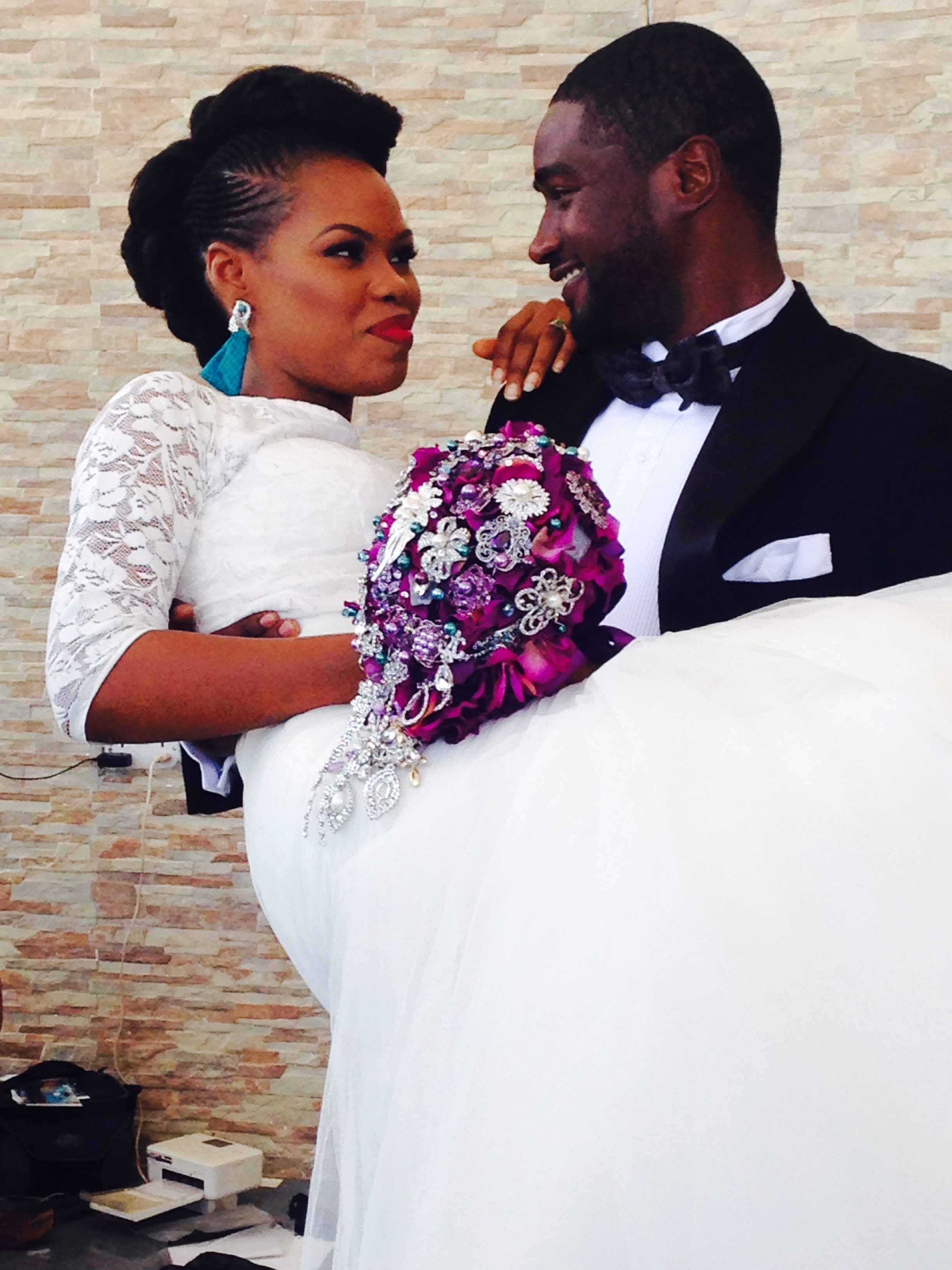 a natural nigerian bride - tosin el-zakir - natural